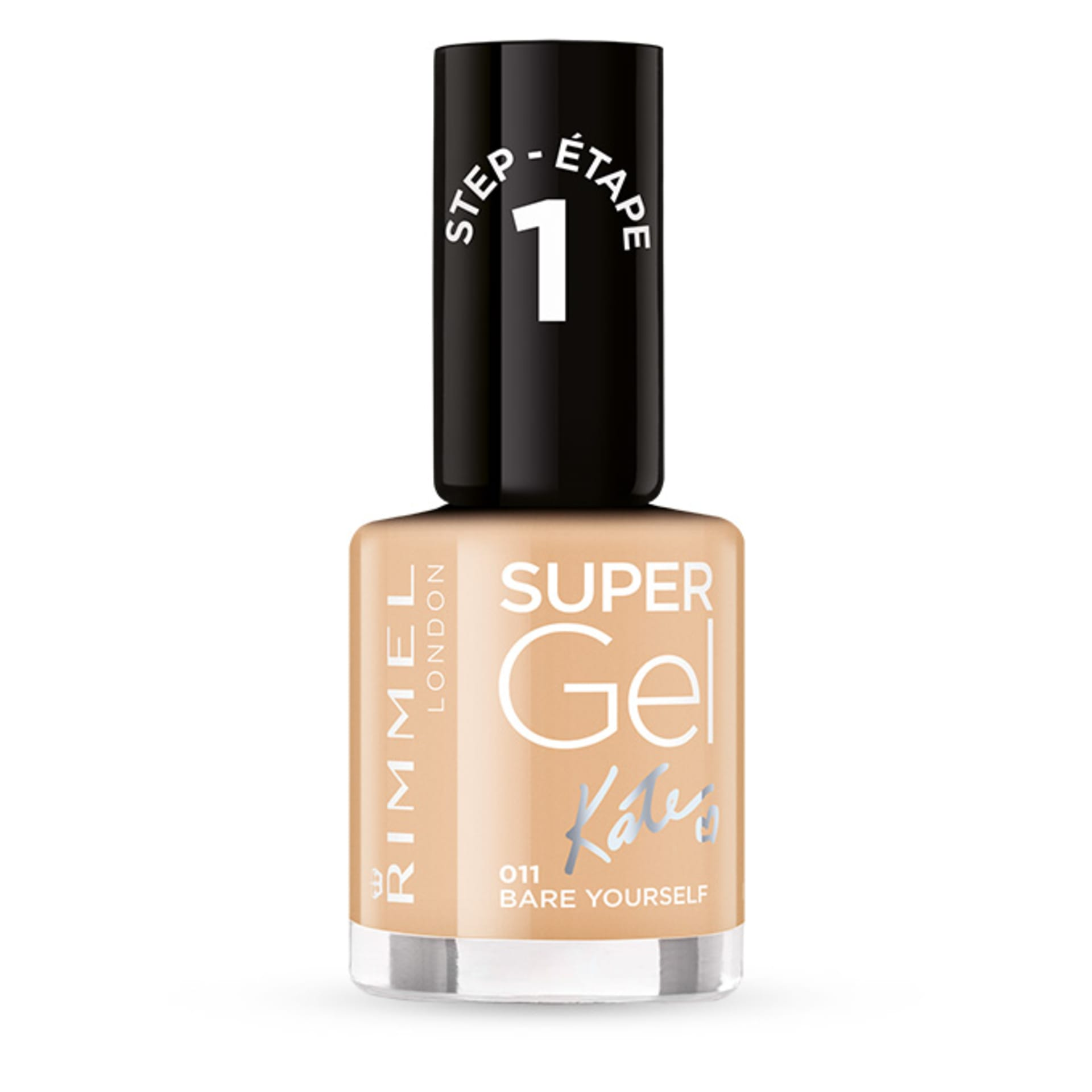 Fiive Beauty Top 5 Nude Nail Polishes Rimmel super gel nail polish - bare yourself