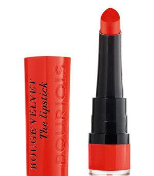 Fiive Beauty Top 5 Matte Red Lipsticks Bourjois Rouge Velvet The Lipstick - 07 Joli Carmin'ois