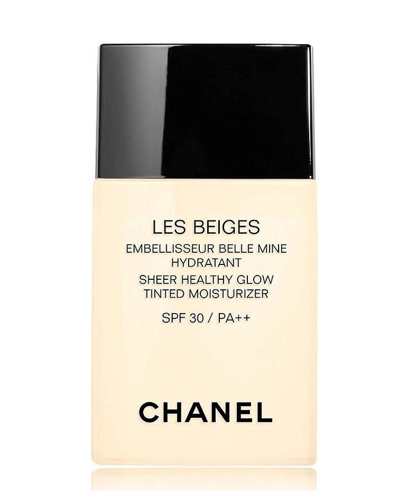 Fiive Beauty Top 5 Tinted Moisturisers CHANEL Les Beiges Sheer Healthy Glow Tinted Moisturiser SPF 30, £37