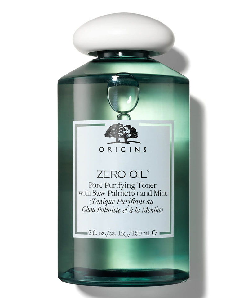 Fiive Beauty Top 5 toners Origins Zero Oil Pore Purifying Toner with Saw Palmetto and Mint