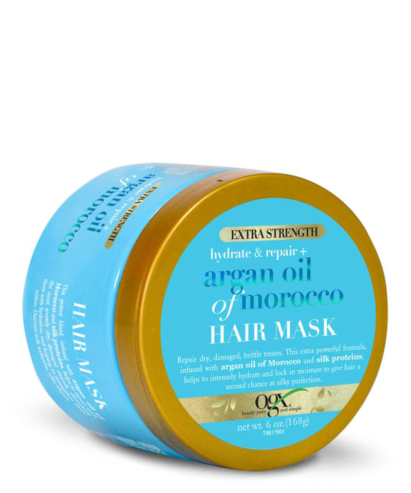 Fiive Beauty Top 5 intensive conditioners Ogx Argan Oil of Morrocco hair mask