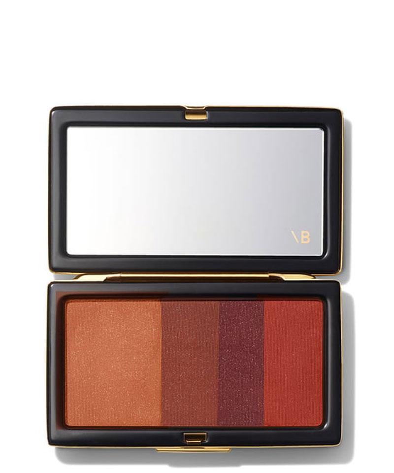 Fiive Beauty Top 5 eyeshadow palettes Victoria Beckham Beauty Smoky Eye brick - Tweed