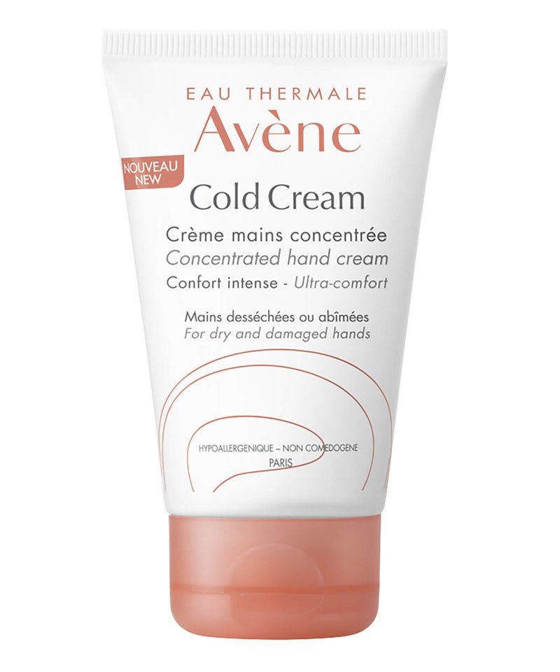 Fiive Beauty Top 5 hand creams Avene Cold Cream concentrated hand cream