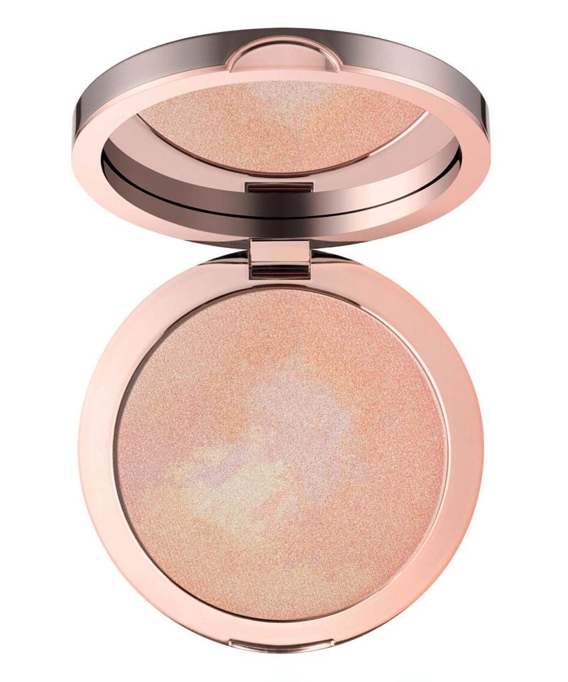 Fiive Beauty Top 5 Highlighters Deililah Pure Light Compact Illuminating Powder - Aura