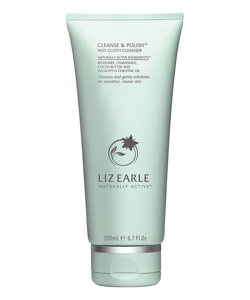 Fiive Beauty Top 5 Cloth Cleansers Liz Earle Cleanse and Polish Hot Cloth Cleanser
