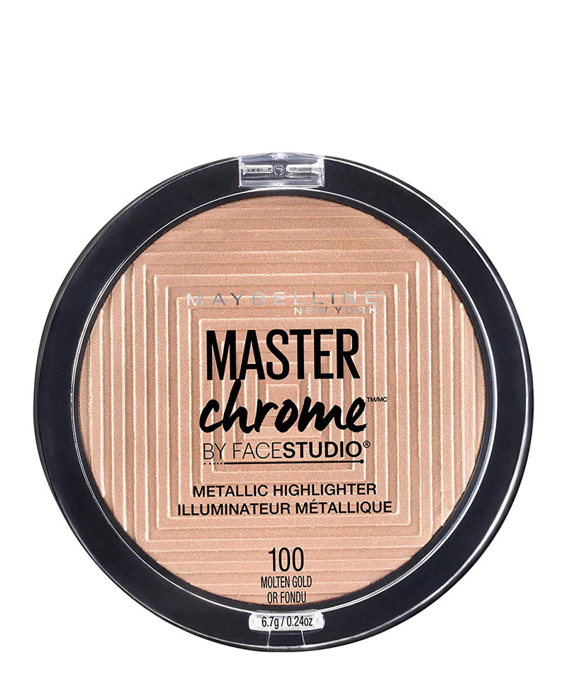 Fiive Beauty Top 5 Highlighters Maybelline Master Chrome Metallic Highlighter Molten Gold