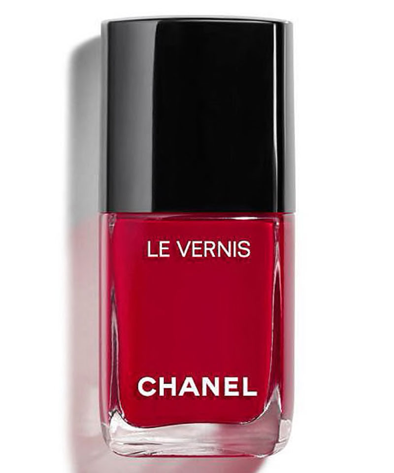 Fiive Beauty Top 5 Red Nail Polishes Chanel Le Vernis 08 Pirate