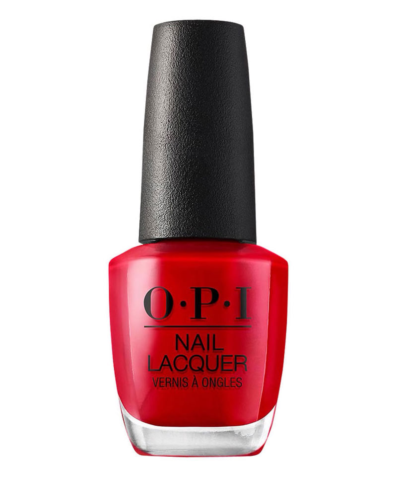 Fiive Beauty Top 5 Red Nail Polishes OPI Nail Lacquer Big Red Apple