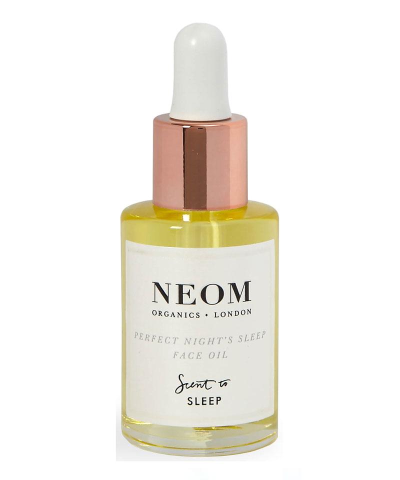 Fiive Beauty Top 5 Facial Oils Neom Perfect Nights Sleep Face Oil