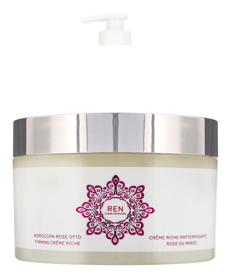 Fiive Beauty Top 5 body lotion/oils REN Morocco Rose Ottto Firming Creme Riche