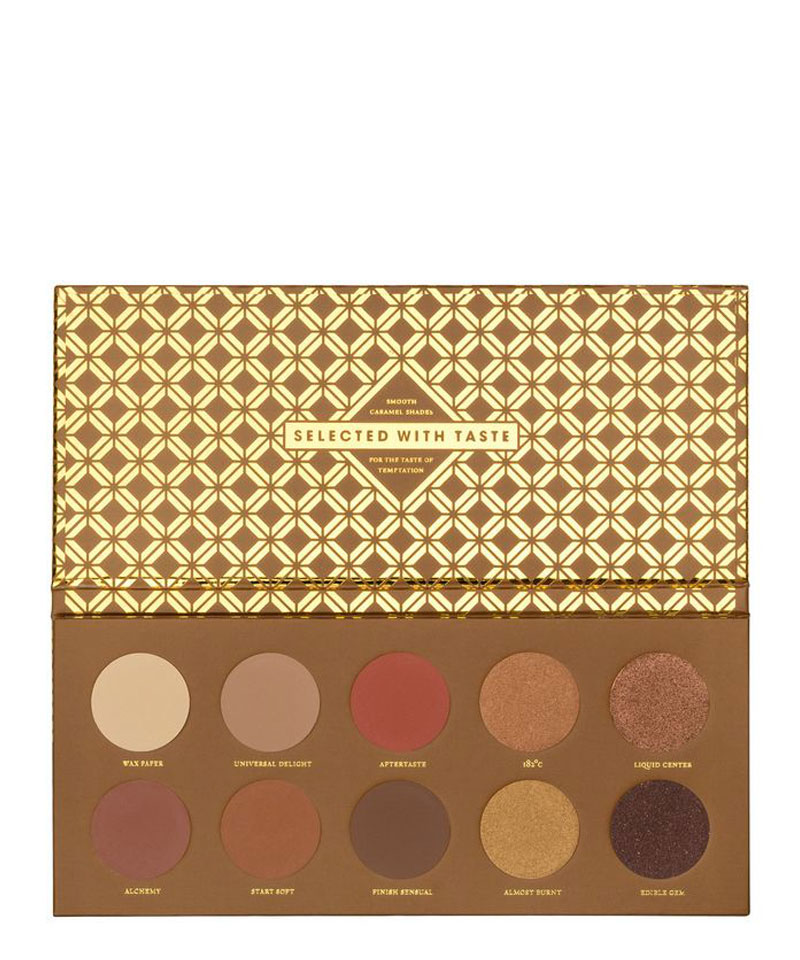 Fiive Beauty Top 5 eyeshadow palettes Zoeva Caramel Melange Eyeshadow palette