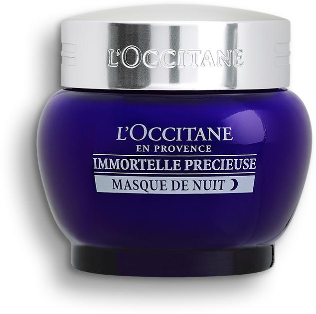 Fiive Beauty Top 5 Night Creams L'occitane en provence immortelle precieuse masque de nuit