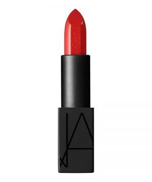 Fiive Beauty Top 5 Matte Red Lipsticks Nars Audacious Lipstick, Lana