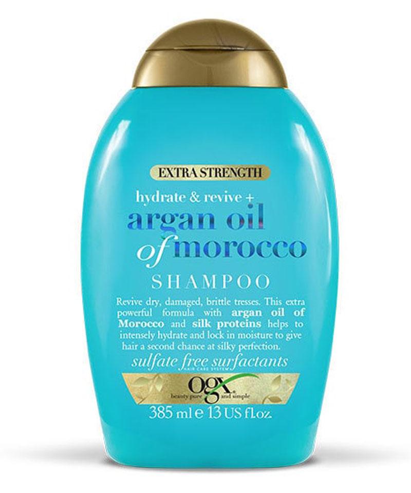 Fiive Beauty OGX organ oil shampoo