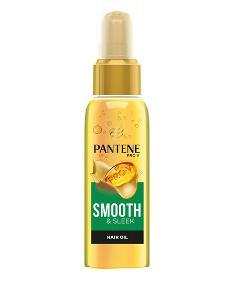 Fiive Beauty Top 5 Hair Oils Pantene Soft and Smooth Dry Argan Oil